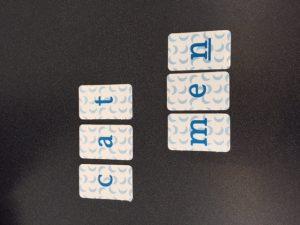 Creating Words Using Letter Tiles