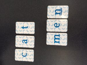 Using Letter Tiles to Make Words