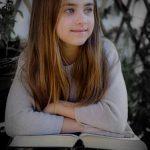 Girl Understanding Book