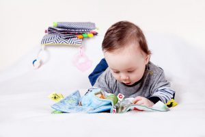 Baby With Cloth Book
