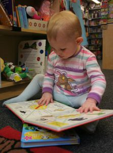Toddlers in Library